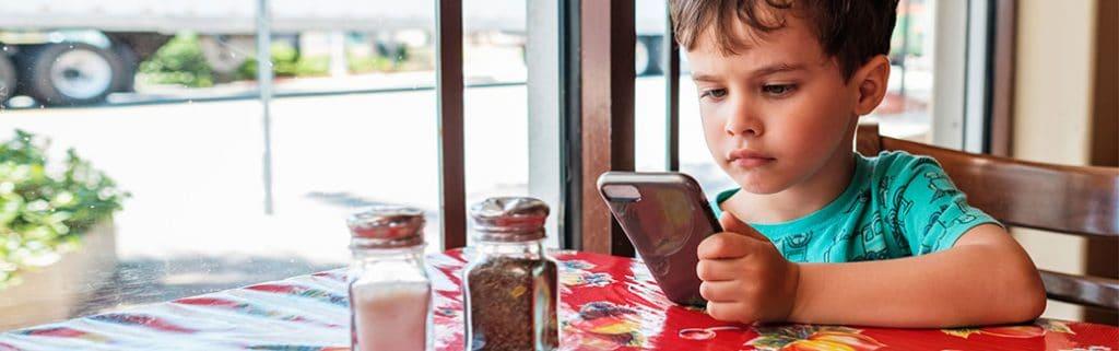 Smartphone addiction in kids