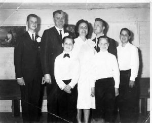 Russ Taff and family. Father Joe was fiery in his preaching and his alcoholism