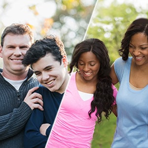 teen girl & mom/teen boy & dad – passport to Identity